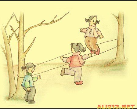 跳房子,堆雪人!追忆80后逝去的童年春节游戏图片