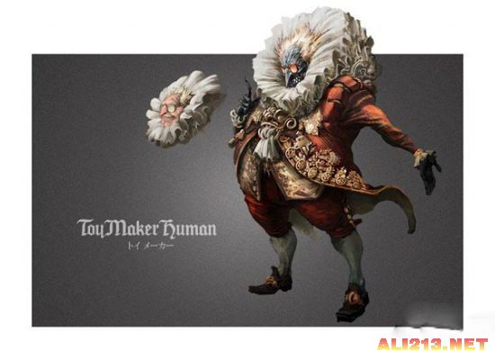 《恶魔城:暗影之王 宿命镜面》最新怪物设定图