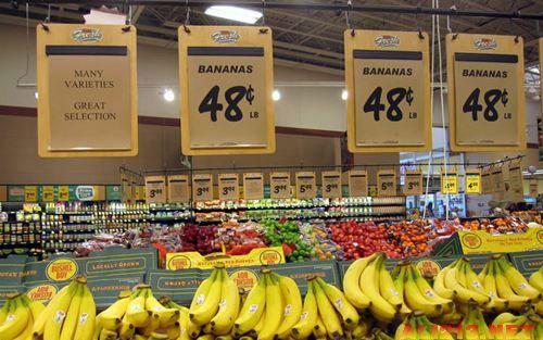美国超市物价_这是根据超市现场照片列出的美国超市的物价