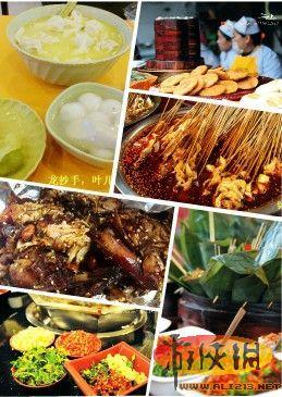 中国小吃排名出炉台北居首 盘点各地美味小吃