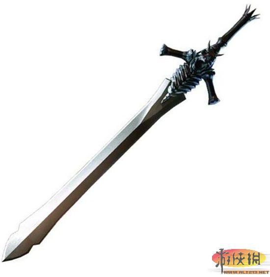 宝剑纹身手绘图片