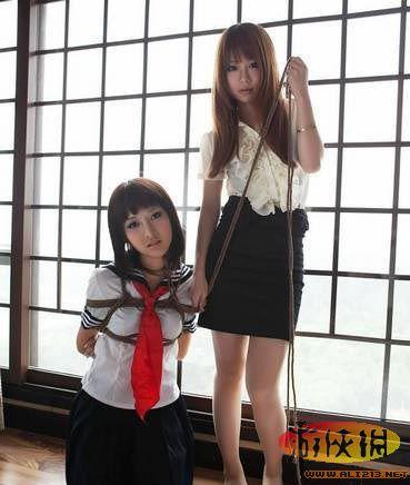 捆绑女du犯捆绑执行日本捆梆美女捆绑艺术