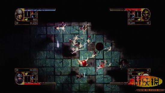 地牢探险类独立游戏《地牢大扫荡》预告片公布