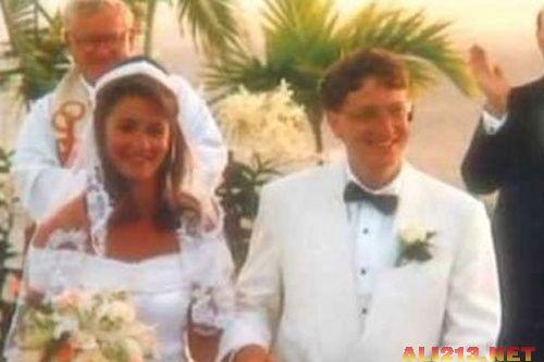 比尔盖茨乔布斯 盘点科技界富豪们的豪华婚礼