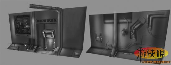 《星际公民》最新设计概念图曝光 未来的飞船机库是什么样