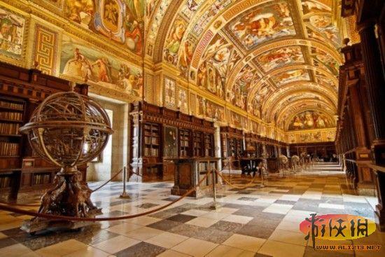精美绝伦书的海洋!盘点全世界八大最美图书馆