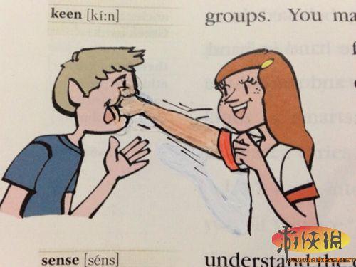 岛国小学生都有漫画家潜质?教科书涂鸦爆笑趣图欣赏