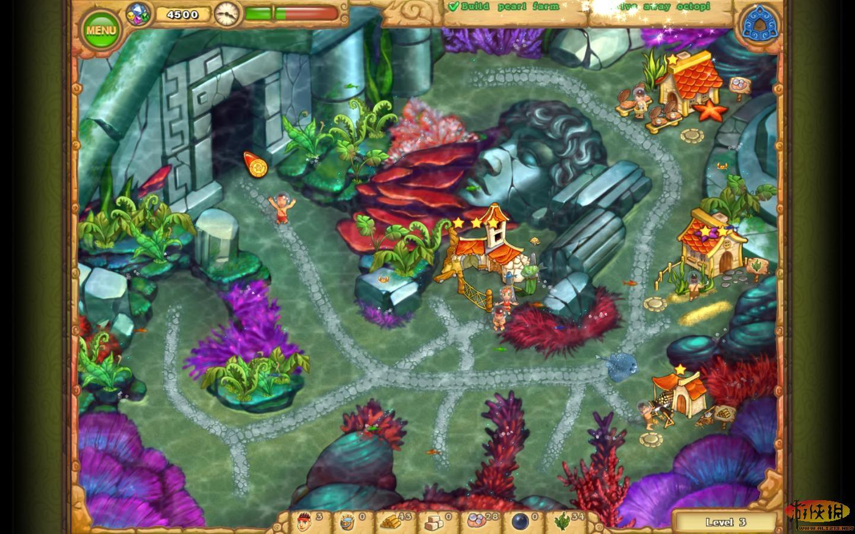 岛屿部落5 游戏测评 传说中的亚特兰蒂斯