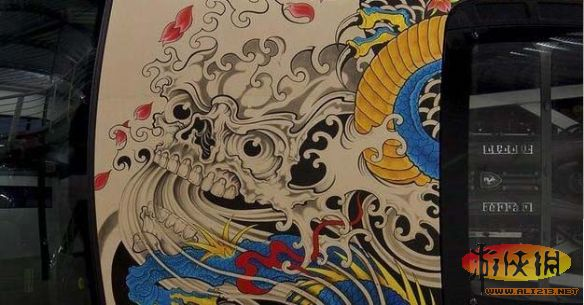 蛟龙出海纹身图片_如龙纹身 手稿_如龙纹身 手稿分享展示