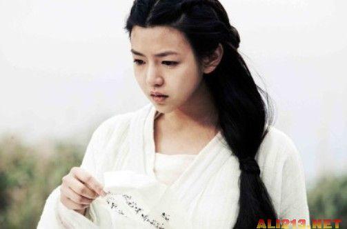 赵丽颖杨蓉林依晨 演古装很美的娃娃脸明星图片