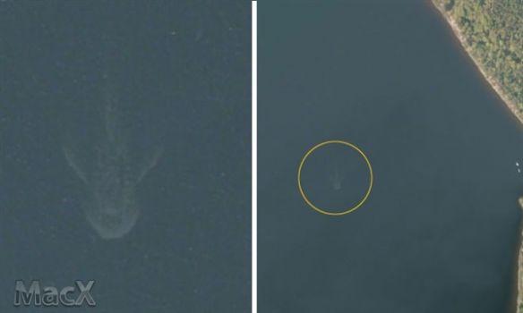 真有尼斯湖水怪?蘋果地圖驚現巨型神秘生物!
