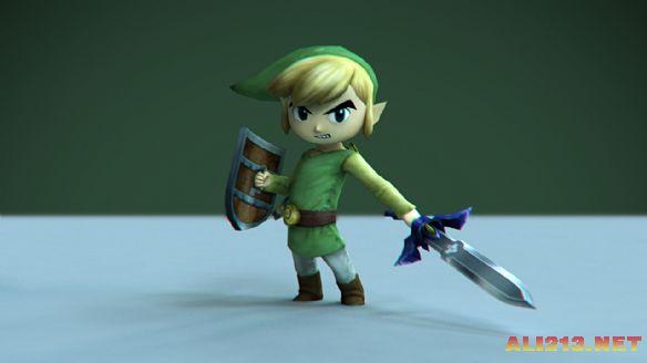 3. Link——《塞尔达传说》   作为一个英雄救美的男猪脚,林克当然要尽力展示自己强大的一面。他没有Marcus Fenix血脉贲张的脖子,没有奎爷的霸气,也没有萨菲罗斯的飘逸,这个穿着绿衣服的小青年还是成功地打败了地牢中的对手,完成了一个小屁孩到白马王子的转变。