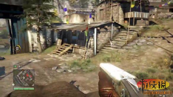 e3《孤岛惊魂4》游戏演示 大象坐骑所向披靡