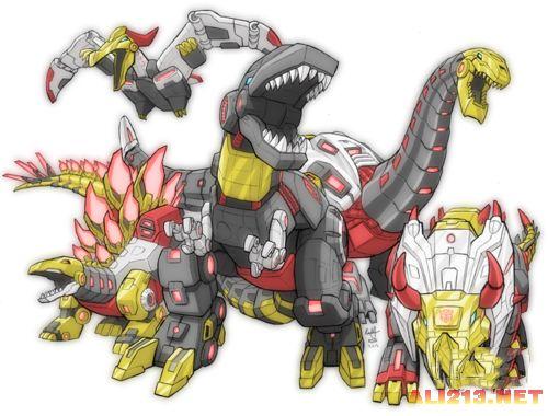 机器恐龙绝迹重生《变形金刚4》登场金刚大解析