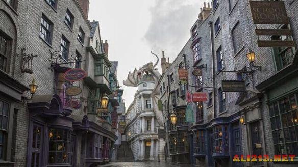 美国公开最新哈利波特主题公园