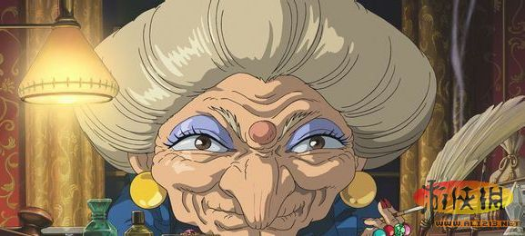 《千与千寻》汤婆婆 汤屋的主人 同时是一个魔力强大的女巫 喜欢把