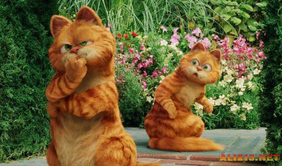 系列   不知道这个加菲猫算不算3d动画电影了,貌似猫是三d动漫形象