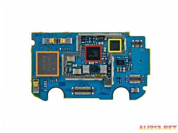 三星9300主板元件图解