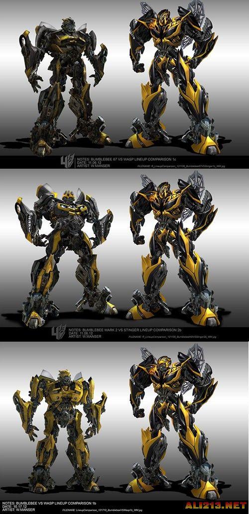 千锤百炼的机器人设计《变形金刚4》概念图大赏图片