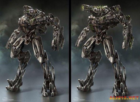 千錘百煉的機器人設計《變形金剛4》概念圖大賞