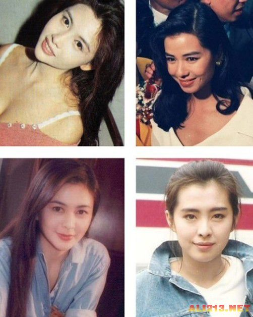 这是最好的时代 90年代香港当红明星珍贵旧照