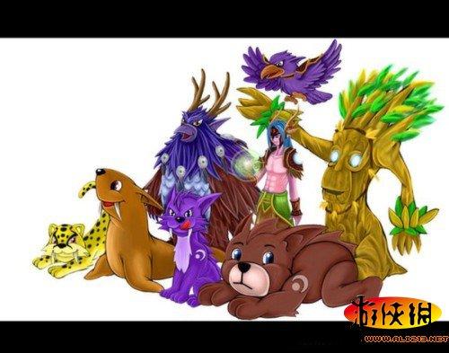 《魔兽世界:德拉诺之王》德鲁伊全新卖萌雕文