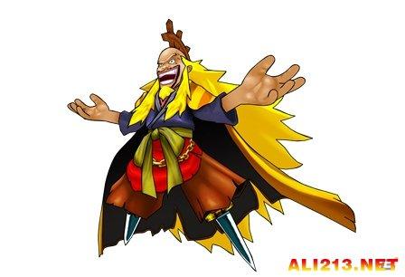 """zooskool兽x人-王下七武海的其中一人,""""德雷斯罗萨""""的国王.""""线线果实""""的能力"""