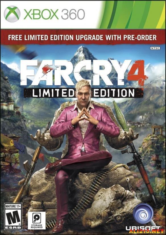 孤岛惊魂4 Far Cry 4 Xbox 360 XEX+ISO+GOD三版本下载地址发布 游侠网