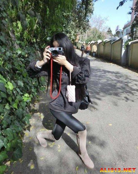论拍照姿势的重要性!图片