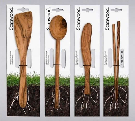 scanwood木质餐具