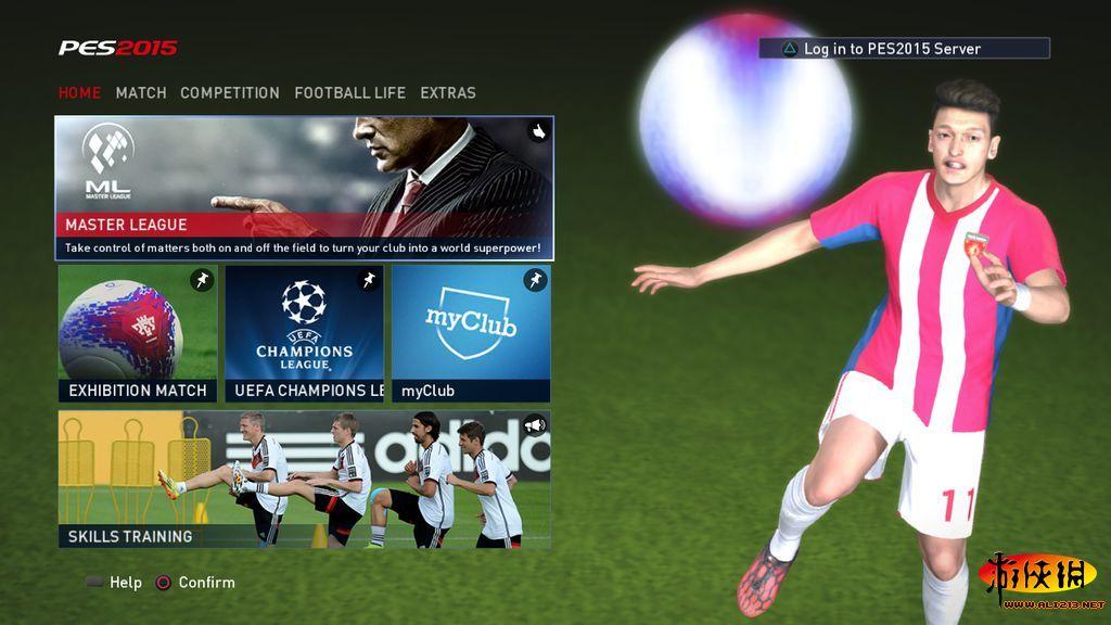 [PS3] [实况足球2015|美版|BLUS31480|7.5GB+新加中文菜单补丁]-TV