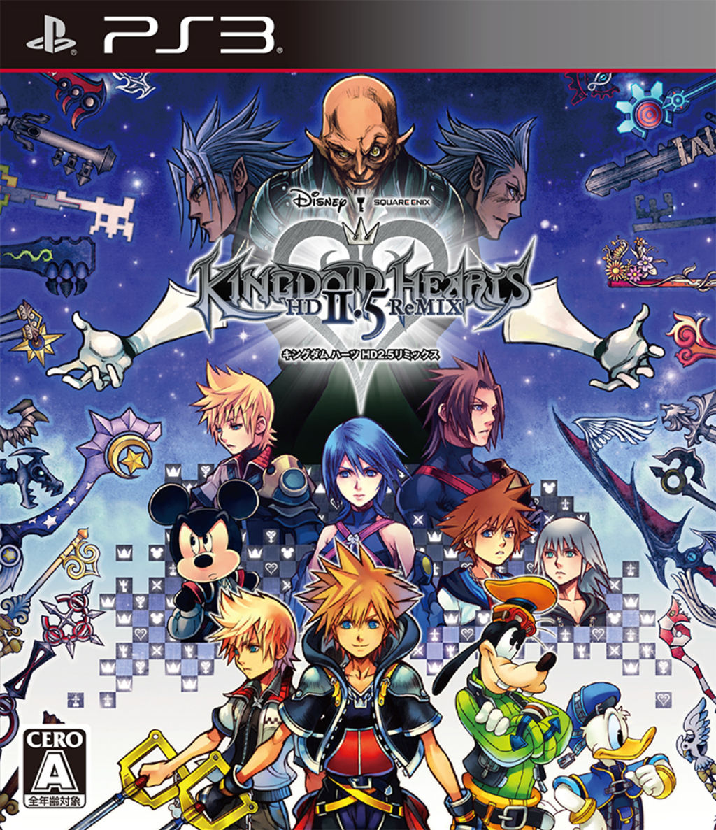 [王国之心高清版 2.5 remix|kingdom hearts ii hd 2.5 remix|...