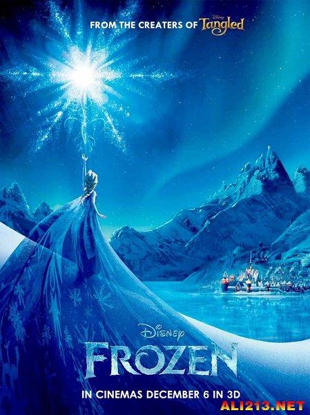 日本迪士尼再现冰雪奇缘场景