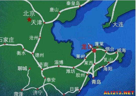 世界地图长城位置