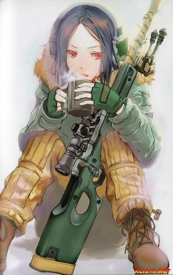 绽放的战场之花 二次元武器少女图集