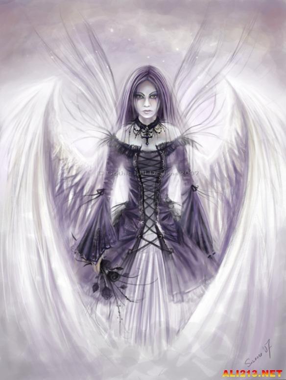 堕落美�_小天你真是太美了!堕落天使和神圣天使海量图片欣赏