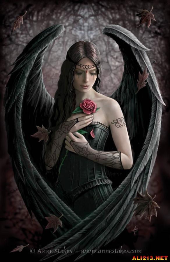 你真是太美了 堕落天使和神圣天使海量图片欣赏