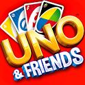 和朋友一起玩UNO