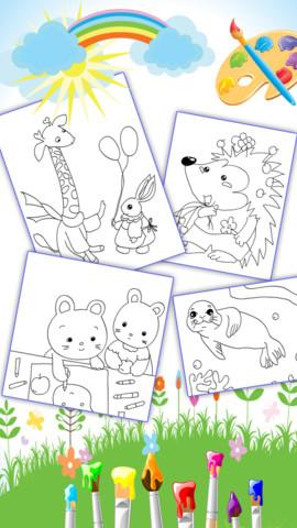 萌萌动物园绘本