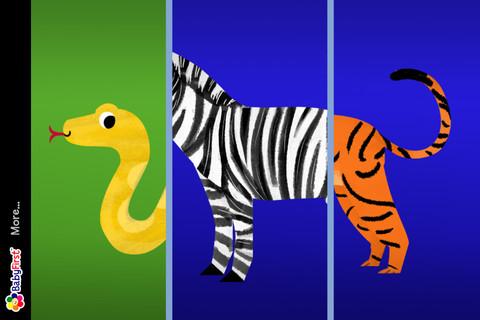 各种动物尾巴的样子