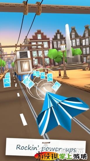 纸飞机的飞行冒险