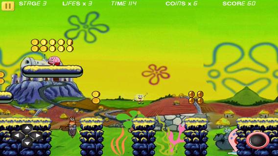海绵宝宝海底跑酷游戏截图