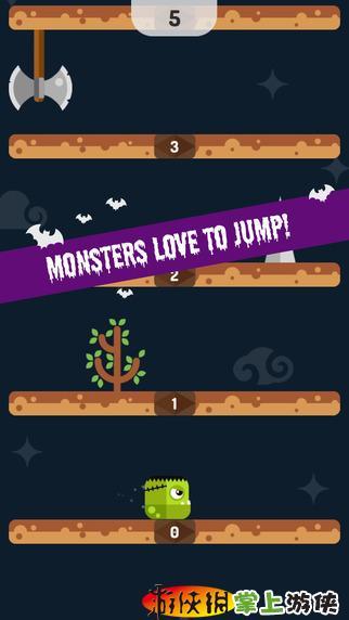 怪物跳跳游戏截图