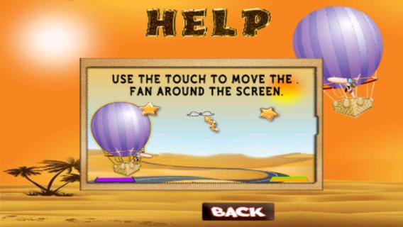 狩猎动物气球飞行冒险游戏截图