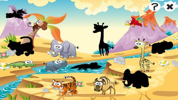 大草原的动物