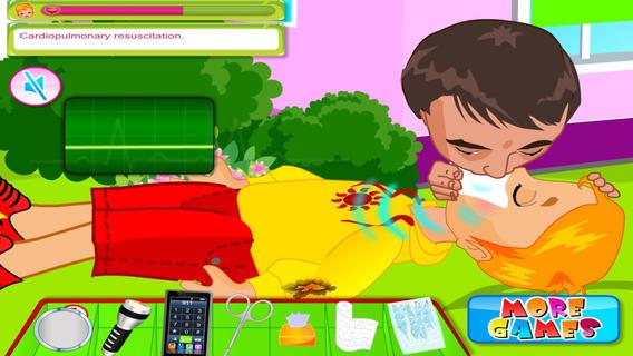 儿童烧伤急救游戏截图