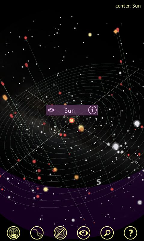 3d星空游戏截图