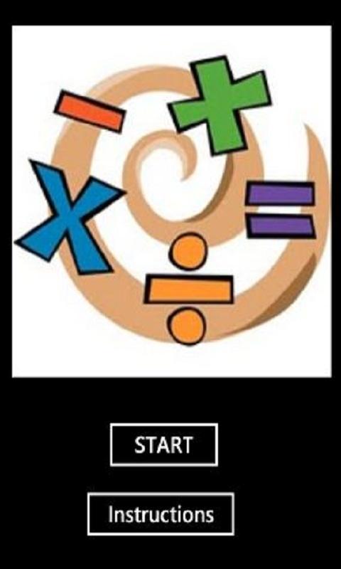 数学图标矢量图