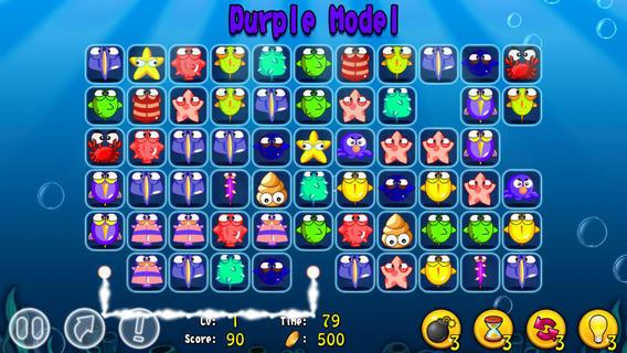 海洋动物连连看游戏截图
