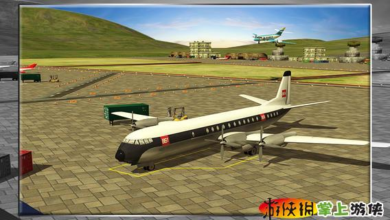 3d客机模拟器游戏截图